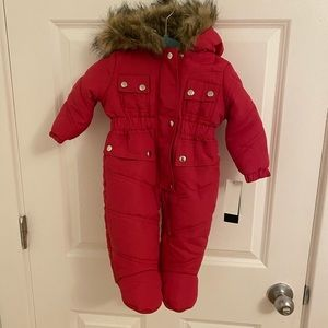 Steve Madden faux fur (baby) body suit